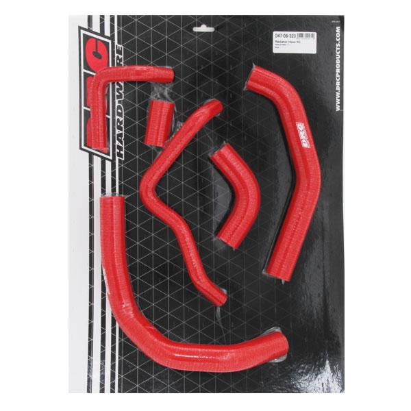DIRTFREAK 【WEB価格】D47-06-323 DRC STラジエターホース (K) Z1000SX,Ninja1000/ABS '11- RED