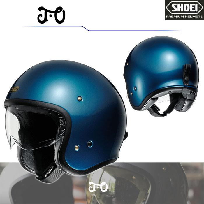 SHOEI ヘルメット J・O【ジェイ・オー】 ジェットヘルメット ラグナブルー