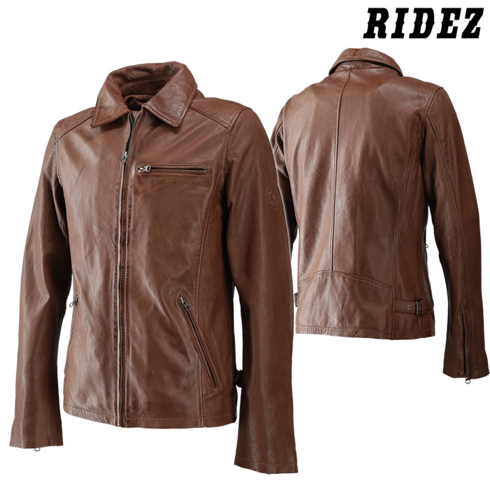 RIDEZ RLJ703 SEVEN JACKET BROWN
