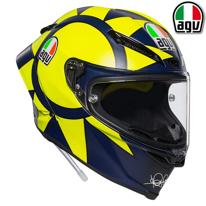 AGV 〔通販限定〕PISTA GP R SOLELUNA 2018 【ピスタGP R ソレルナ】 フルフェイス ヘルメット