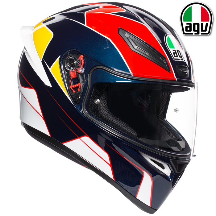 AGV 〔通販限定〕K-1 PITLANE【ピットレーン】 フルフェイス ヘルメット
