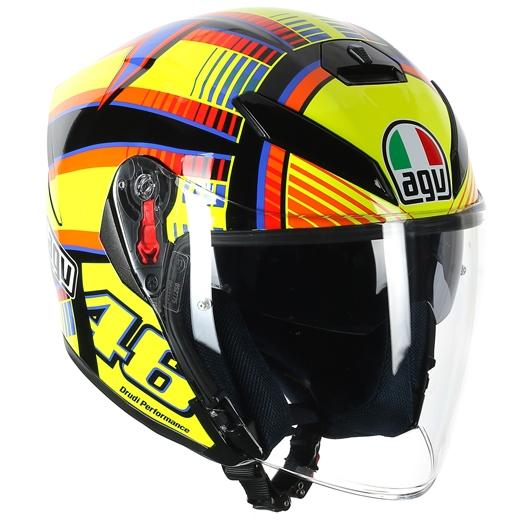 AGV 〔通販限定〕K-5 JET SOLELUNA ジェットヘルメット