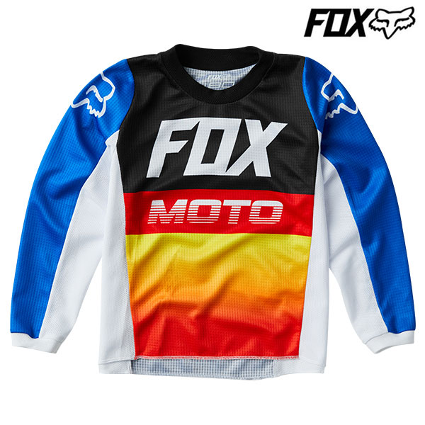 FOX RACING FOX 20 180 ジャージ キッズ 24584 FYCE BLU/RD