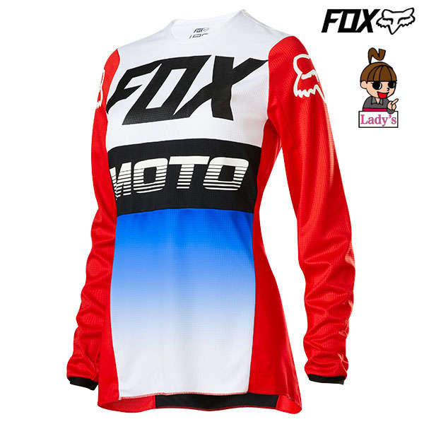 FOX RACING FOX 20 180ジャージ ウーマンズ 23963 FYCE BLU/RD