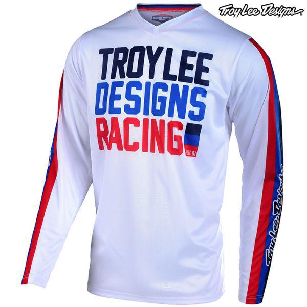 Troy Lee Designs 〔通販限定〕 20 GP エアー ジャージ PREMIX86 WH