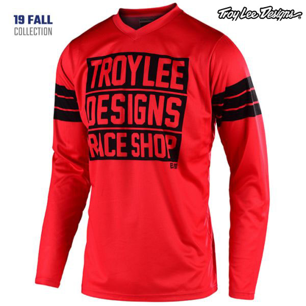 Troy Lee Designs 〔通販限定〕 20 GP ジャージ CARLSBAD RED
