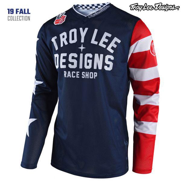 Troy Lee Designs 19-20 GP エアー ジャージ AMERICANA NV