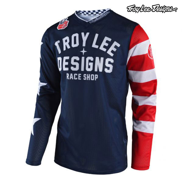 Troy Lee Designs 19-20 ユース GP エアー ジャージ AMERICANA NV