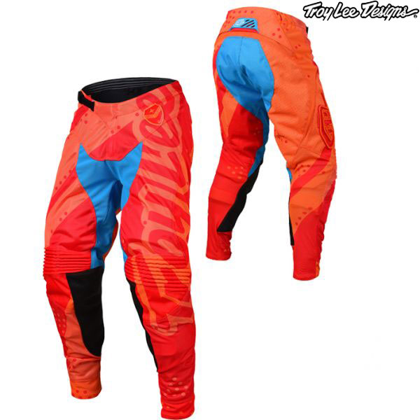 Troy Lee Designs 〔通販限定〕 19-20 SE エアー パンツ SHADOW HON/RED