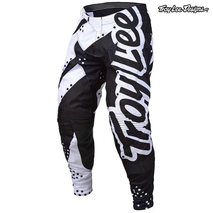 Troy Lee Designs 〔通販限定〕 19-20 SE パンツ SHADOW WHITE/BLACK