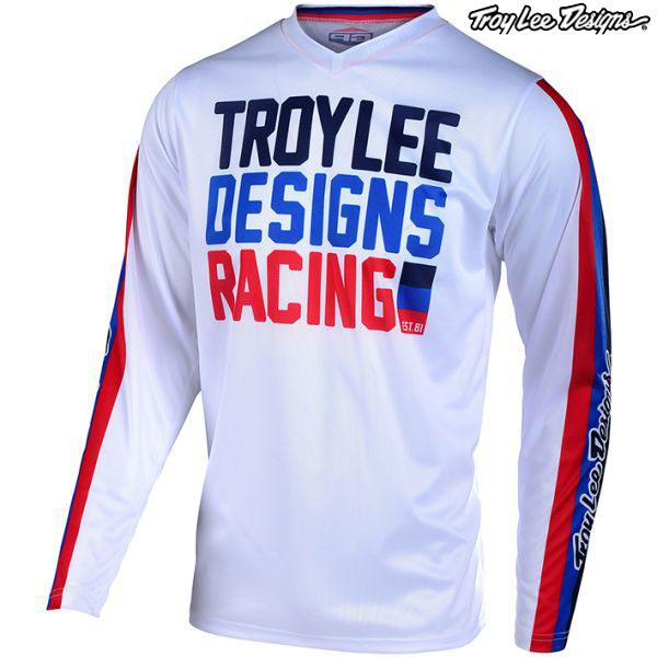 Troy Lee Designs 20 ユース GP エアー ジャージ PREMIX86 WH