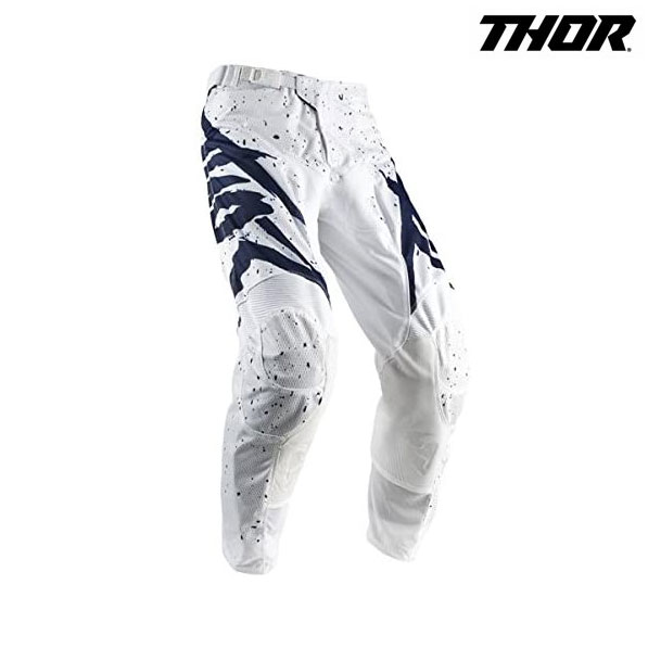THOR 18S パンツ PULSE AIR HYPE WH/NV
