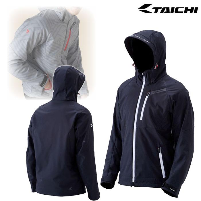 アールエスタイチ RSJ720 ソフトシェル オールシーズン パーカ ジャケット BLACK/WHITE◆全7色◆