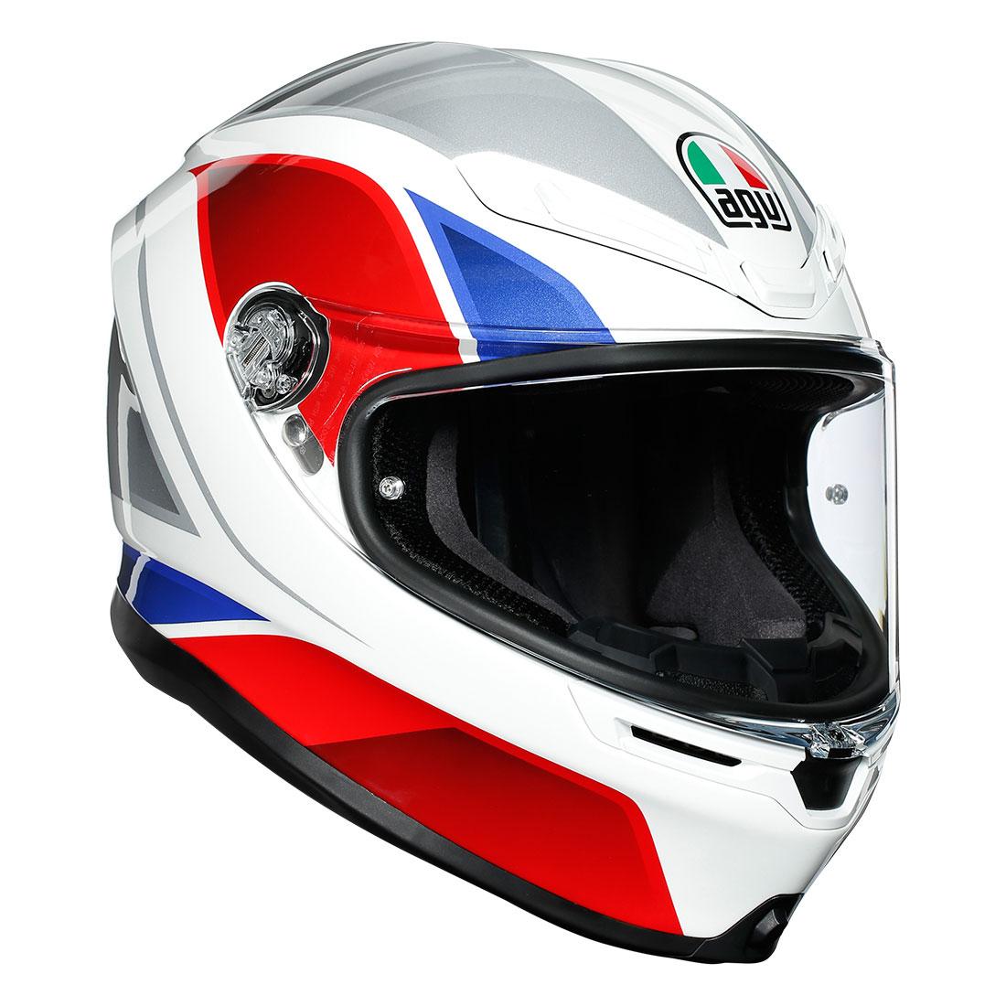 AGV AGVヘルメット K6 003-HYPHEN WH/RD/BL
