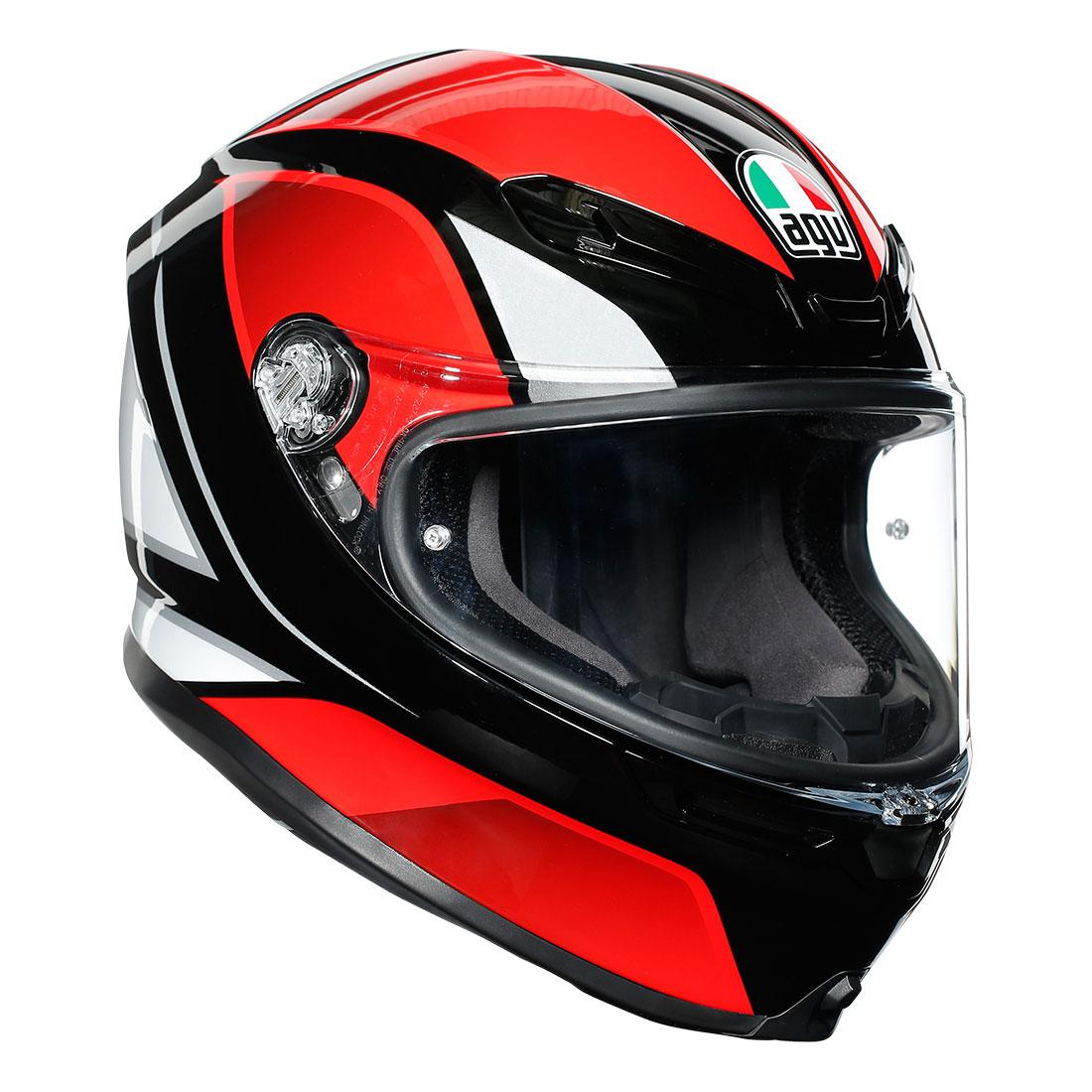 AGV AGVヘルメット K6 004-HYPHEN BK/RD/WH
