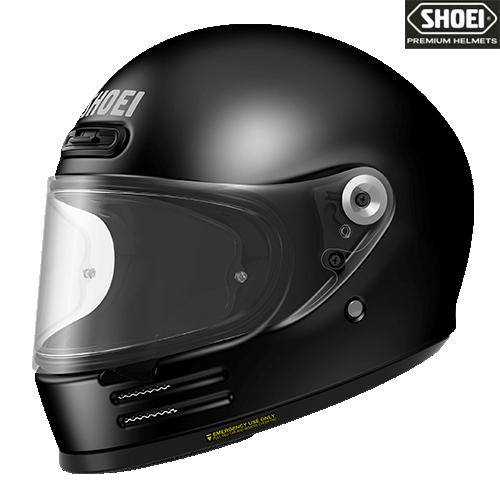 SHOEI ヘルメット Glamster  【グラムスター】 ブラック フルフェイスヘルメット