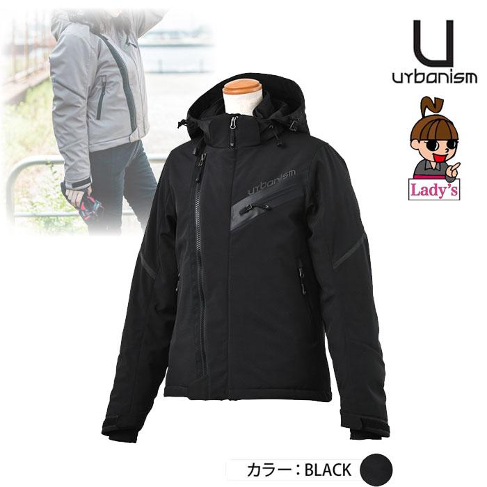 J-AMBLE (レディース)UNJ-083W シティライドソフトシェルジャケット BLACK ◆全3色◆