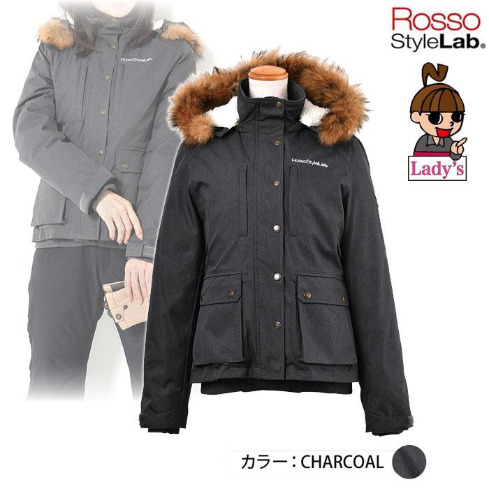 J-AMBLE (レディース) ROJ-974 ミリタリーウィンタージャケット TOP CHARCOAL ◆全3色◆