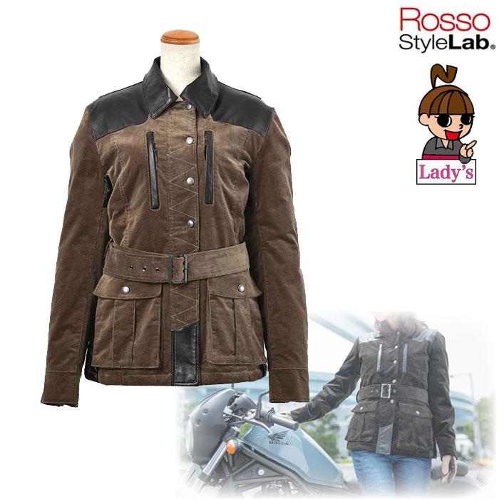 J-AMBLE ROJ-979 パーシャルレザーコーデュロイジャケット KHAKI ◆全2色◆