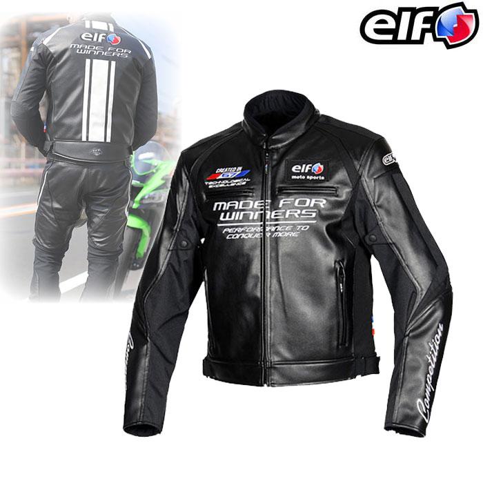 elf EJ-W108 エヴォルツィオーネPUレザージャケット Black◆全5色◆