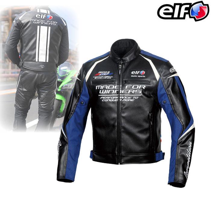 elf EJ-W108 エヴォルツィオーネPUレザージャケット Blue◆全5色◆