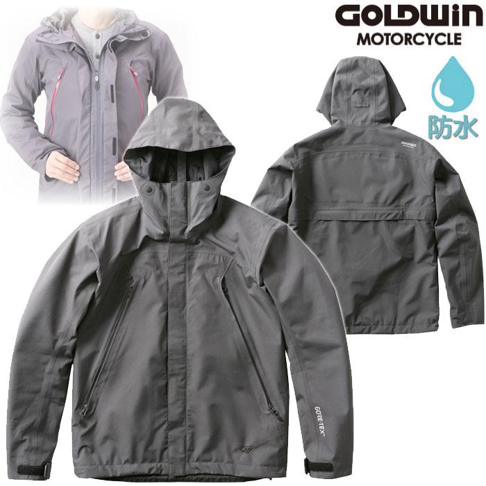 GOLDWIN GSM22900 ゴアテックスマルチフードジャケット ガンメタル(GM)◆全3色◆