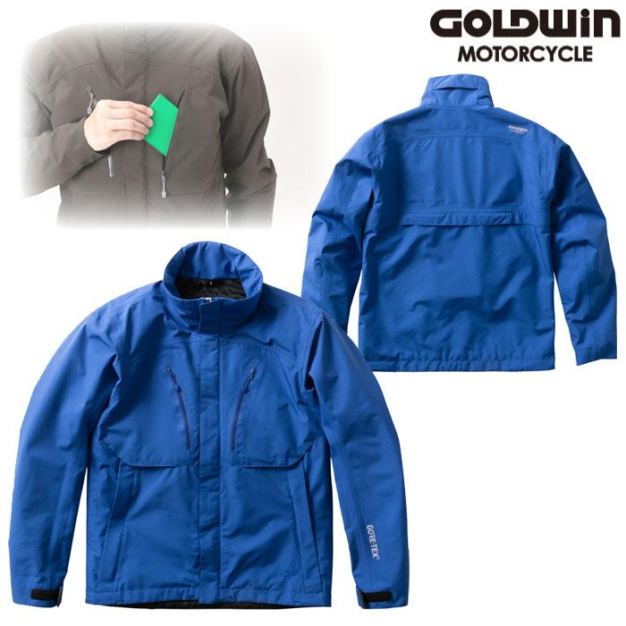 GOLDWIN GSM22901 ゴアテックスマルチクルーザージャケット ブルー(B)◆全4色◆
