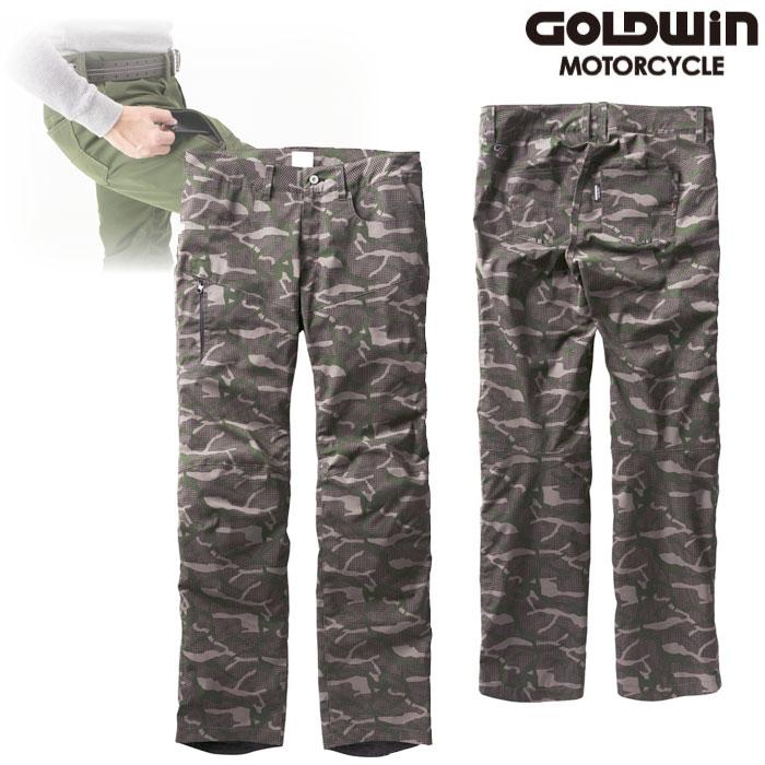 GOLDWIN GSM23951 GWM ウォームカーゴパンツ グレーカモ(HC)◆全7色◆