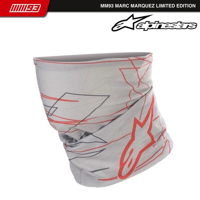alpinestars MM93 NECK TUBE 963 MID GRAY DARK GRAY RED◆全2色◆