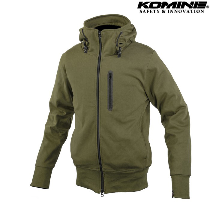 komine JK-604 Protect KV Parka プロテクトKVパーカー ジャケット オリーブ