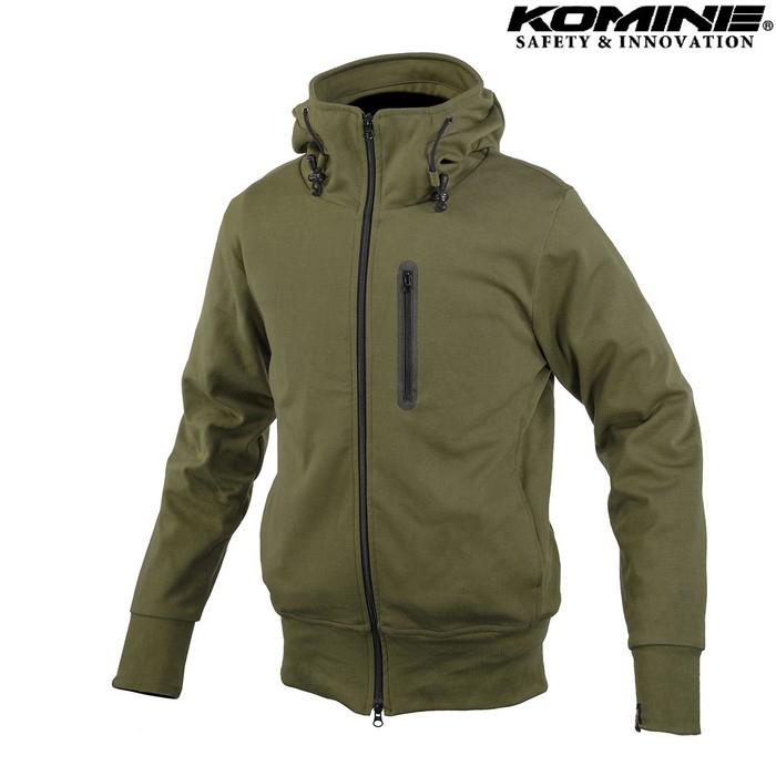 komine JK-604 Protect KV Parka プロテクトKVパーカー ジャケット オリーブ ◆全3色◆