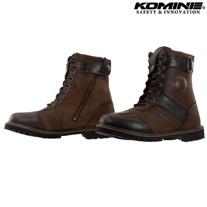 komine SB-90 ヴィンテージライディングブーツ ブラウン ◆全2色◆