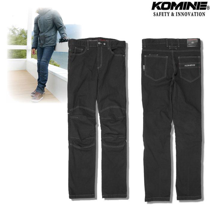 komine WJ-927R プロテクトウインドプルーフウォームジーンズ Black◆全2色◆