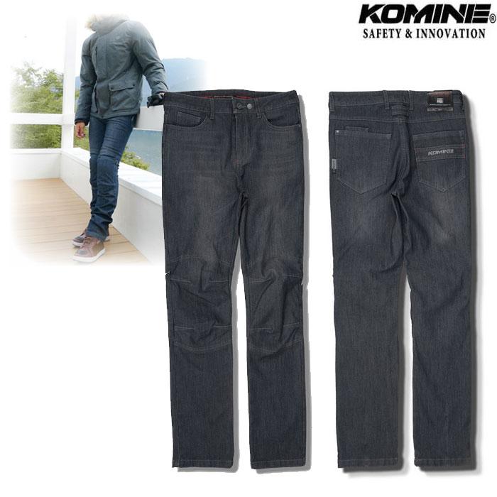 komine WJ-927R プロテクトウインドプルーフウォームジーンズ Deep Indig◆全2色◆