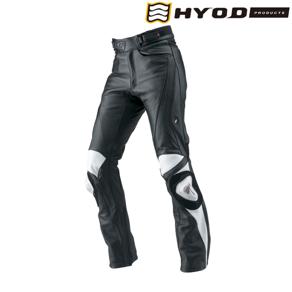 HYOD PRODUCTS HSP011DN ST-X D3O LEATHER PANTS(STRAIGHT) BLACK/WHITE◆全3色◆