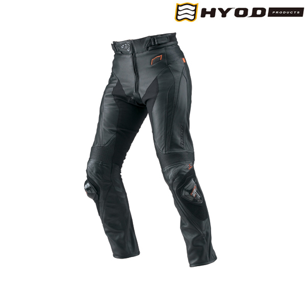 HYOD PRODUCTS HSP019SPD ST-X D3O LEATHER PANTS(BOOTS-OUT)  レザーパンツ BLACK LITE◆全3色◆