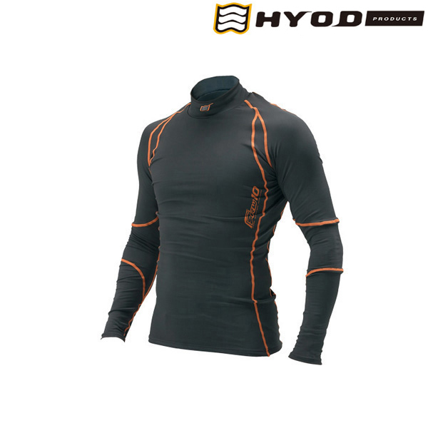 HYOD PRODUCTS HRU501S BOOST WARM UNDER SHIRTS BLACK/ORANGE◆全2色◆