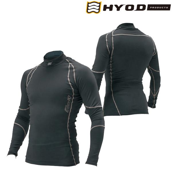 HYOD PRODUCTS HRU501S BOOST WARM UNDER SHIRTS BLACK/GREY◆全2色◆