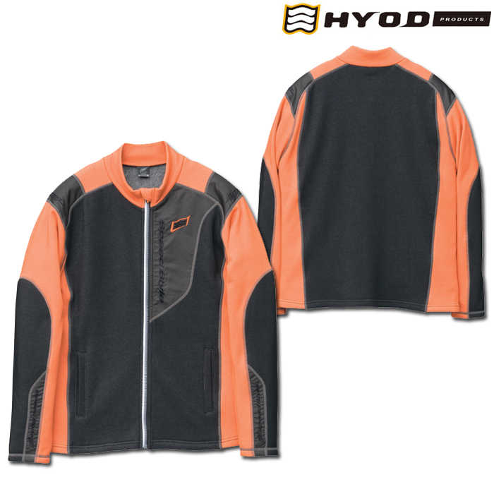 STU513S LONG SLEEVE HEAT T-SHIRTS ORANGE/BLACK◆全4色◆