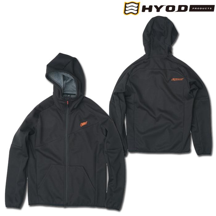 HYOD PRODUCTS STU729 WIND BLOCK HEAT FULL ZIP PARKA BLACK◆全4色◆