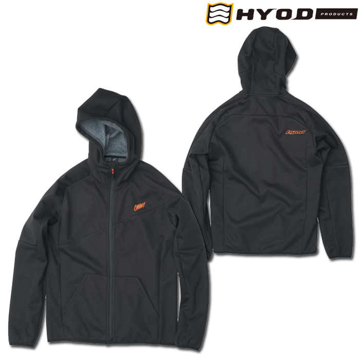 HYOD PRODUCTS STU729 WIND BLOCK HEAT FULL ZIP PARKA BLACK◆全4色◆