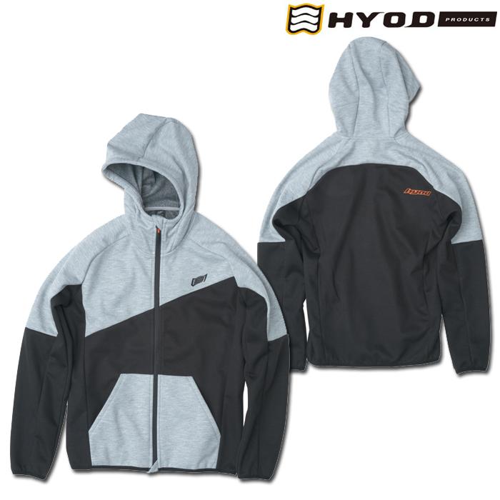 HYOD PRODUCTS STU729 WIND BLOCK HEAT FULL ZIP PARKA ASH/BLACK◆全4色◆