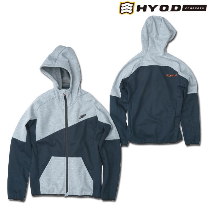 HYOD PRODUCTS STU729 WIND BLOCK HEAT FULL ZIP PARKA ASH/NAVY◆全4色◆
