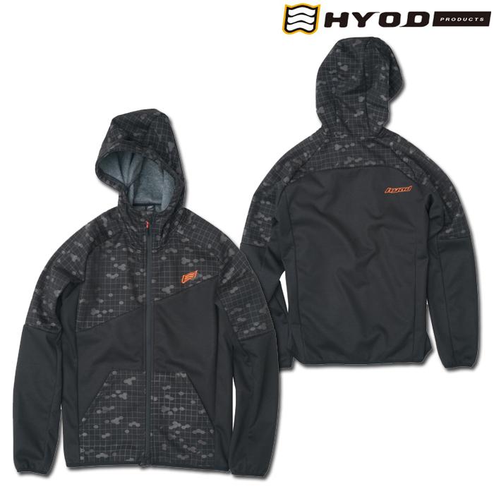 HYOD PRODUCTS STU729 WIND BLOCK HEAT FULL ZIP PARKA BLACK GRAPHIC/BLACK◆全4色◆