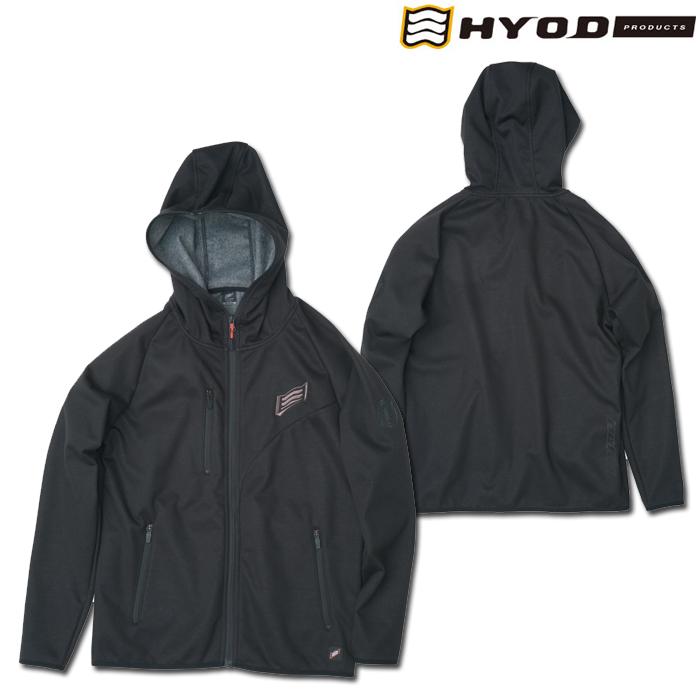 HYOD PRODUCTS STU717N WIND BLOCK HEAT FULL ZIP PARKA BLACK◆全4色◆