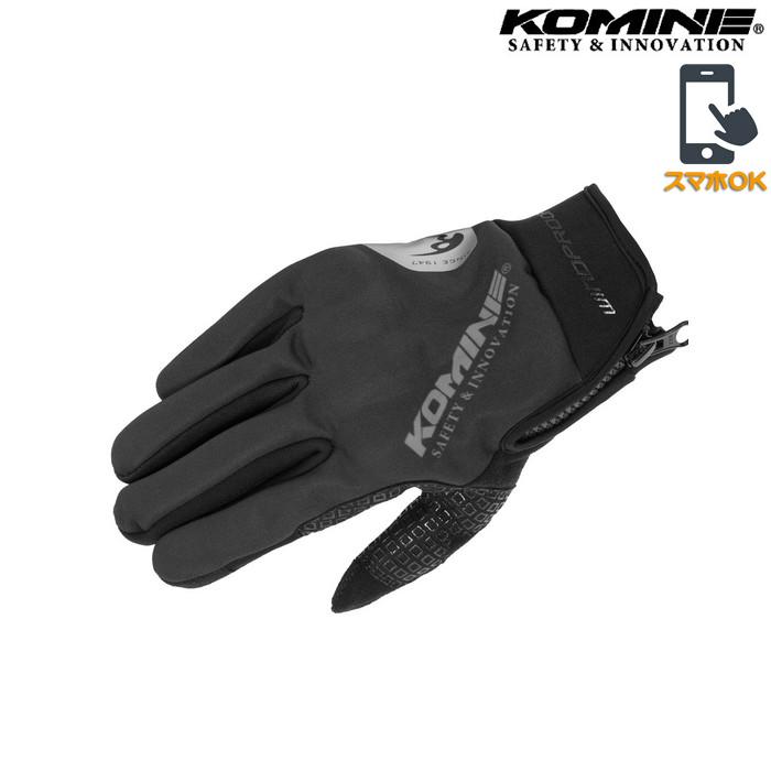 komine GK-839 プロテクトウインドプルーフグローブHG ブラック ◆全5色◆