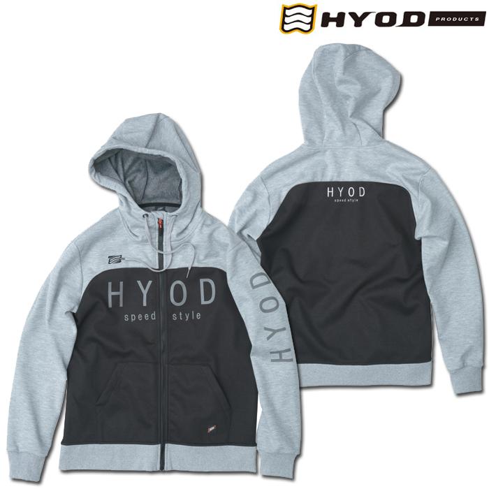 HYOD PRODUCTS STU727 WIND BLOCK HEAT FULL ZIP PARKA ASH/BLACK◆全4色◆