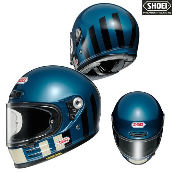 SHOEI ヘルメット 【2020年11月発売予定】Glamster RESURRECTION 【グラムスター リザレクション】フルフェイスヘルメット ブルー/ブラック