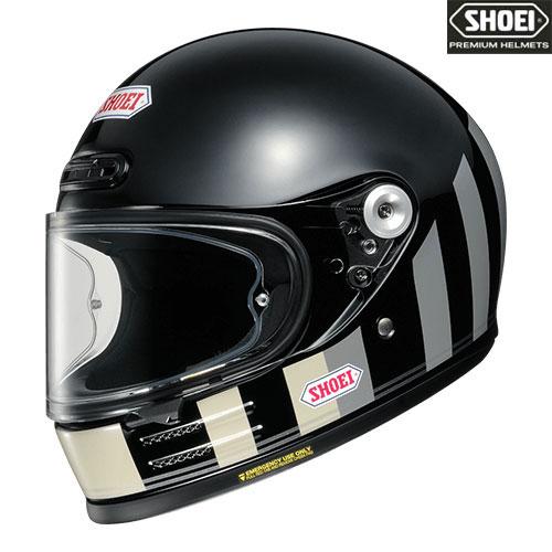 SHOEI ヘルメット 【2020年11月発売予定】Glamster RESURRECTION 【グラムスター リザレクション】フルフェイスヘルメット ブラック/グレー