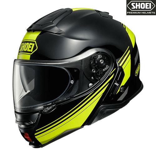 SHOEI ヘルメット NEOTECⅡ SEPARATOR 【セパレーター】ブラック/イエロー フルフェイスヘルメット